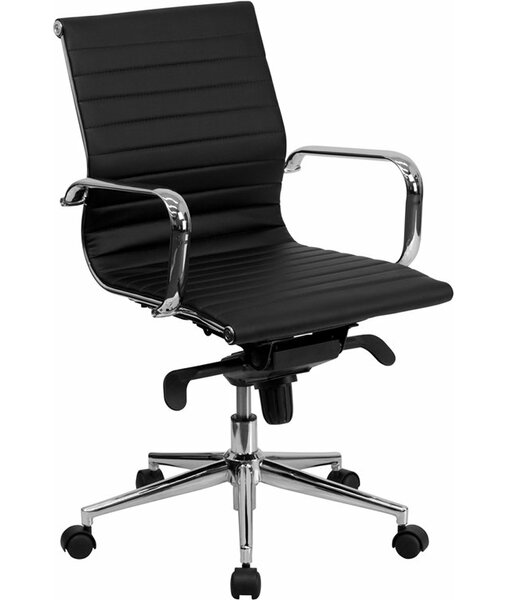 Wherry Mid-Back Ergonomic Office Chair by Orren Ellis