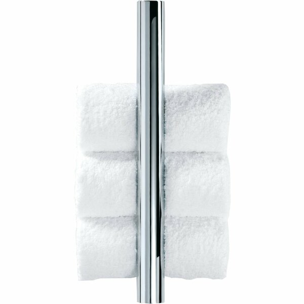 Vertical Guest Wall Mounted Towel Rack by AGM Home Store