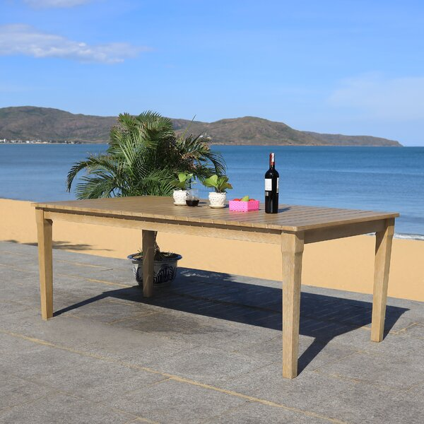 Duchene Wooden Dining Table by Highland Dunes