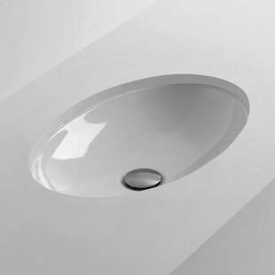 Compare H10 Oval Undermount Bathroom Sink ByWS Bath Collections