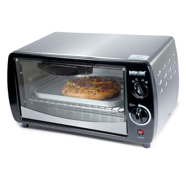 0.3 Cubic Foot Toaster Oven by Better Chef
