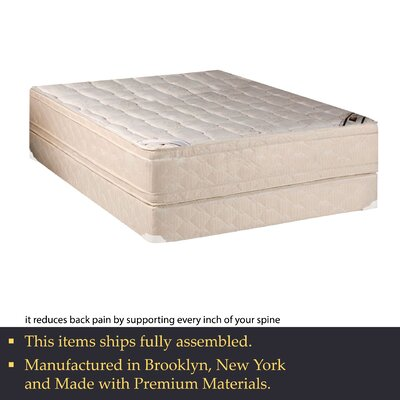 14 Firm Innerspring Mattress and Box Spring White Noise Mattress Size: California King
