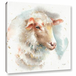 Farm Friends IV Painting Print on Wrapped Canvas by Laurel Foundry Modern Farmhouse
