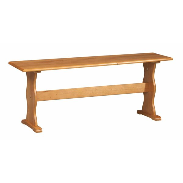 Romina Wood Bench By August Grove
