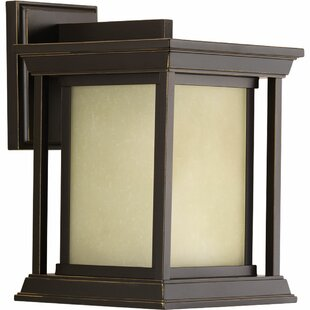 Big Save Zahn 1-Light Outdoor Wall Lantern By Brayden Studio