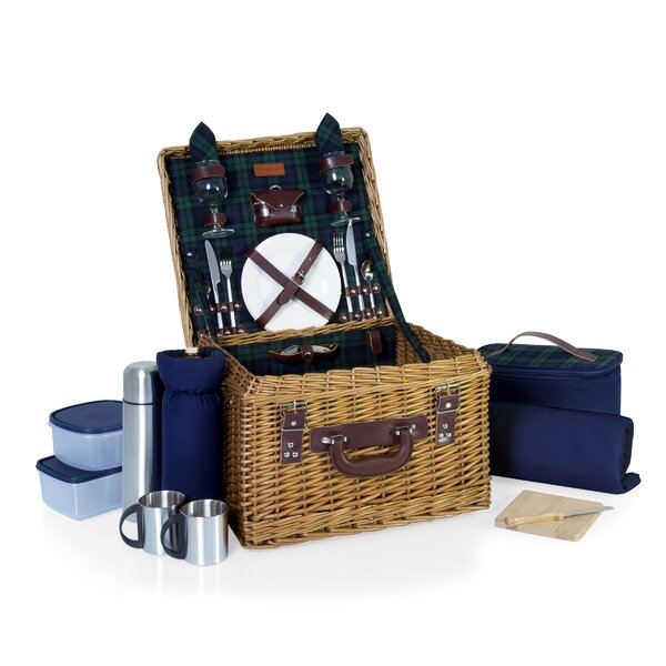 Canterbury Picnic Basket by Highland Dunes