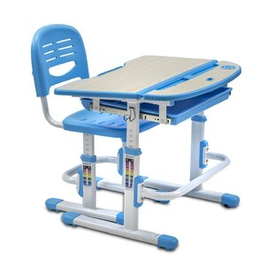 Height Adjule 28 W Art Desk And Chair Set