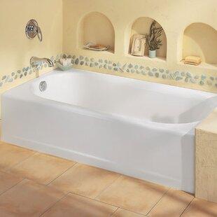 Best Reviews Princeton 60 x 34 Alcove Soaking Bathtub ByAmerican Standard