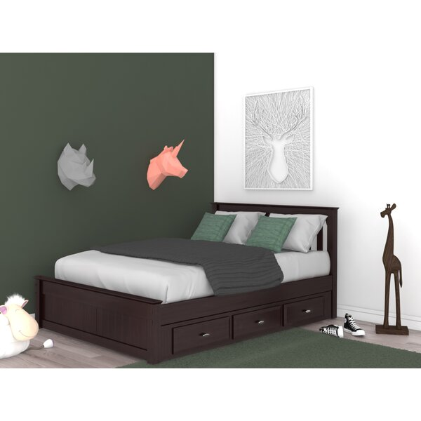 Giustino Full Platform Bed with 3 Drawers by Birch Lane™ Heritage