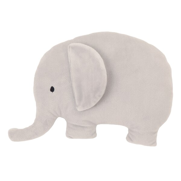 Dreamer Plush Elephant 3D Wall Decor by NoJo