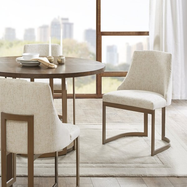 Faunsdale Upholstered Dining Chair (Set of 2) by Brayden Studio