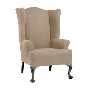 Wingback Sofa Slipcover | Wayfair