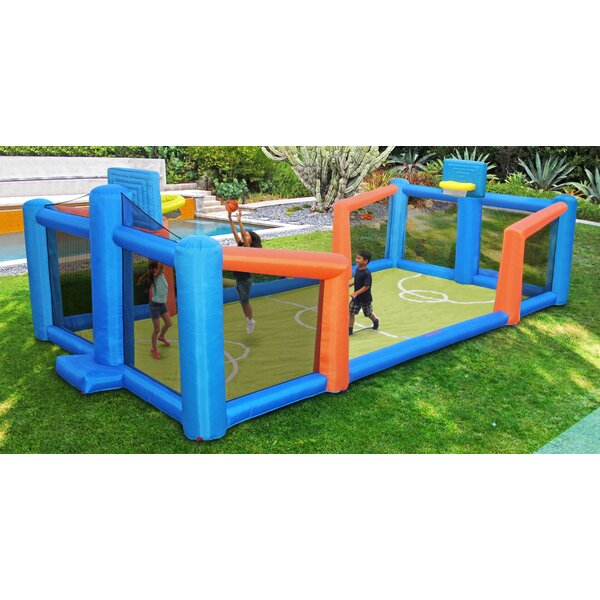Slama Jama Inflatable Basketball Court by Sportspower