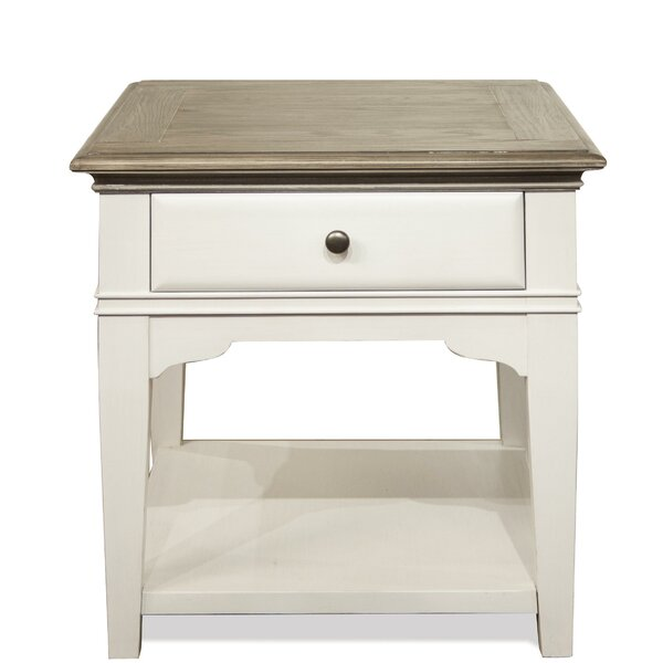 Cardiff Halton End Table By Rosecliff Heights