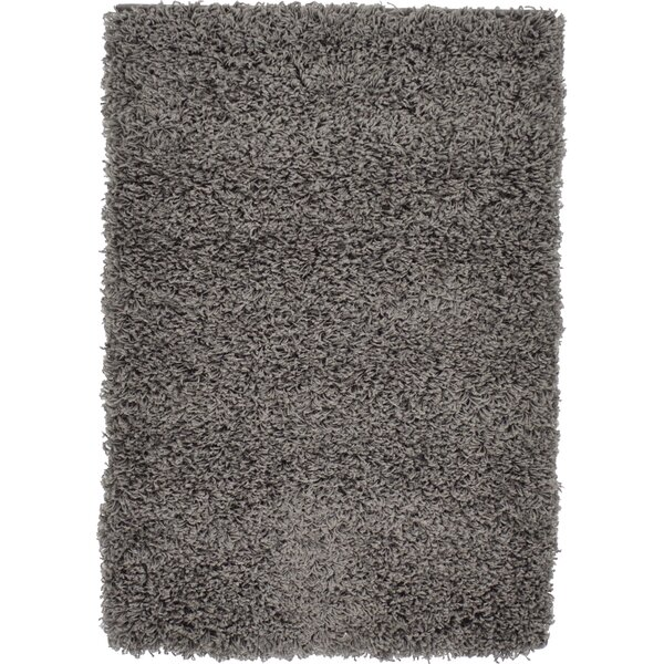 Lilah Dark Gray Area Rug by Andover Mills