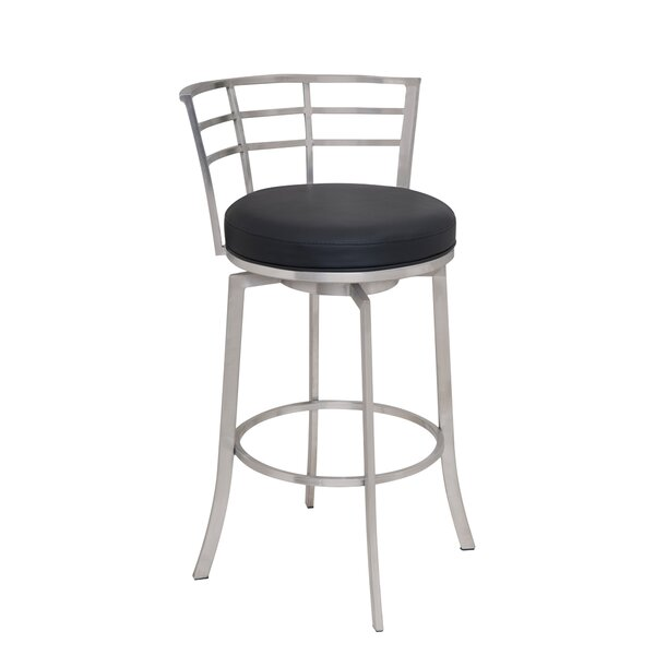 Morris 30 Swivel Bar Stool by Latitude Run