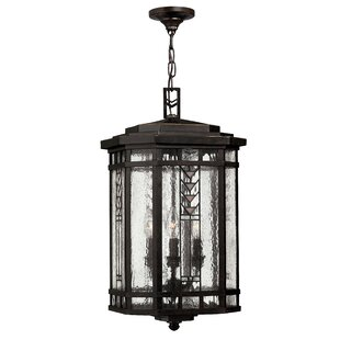 Affordable Price Westberry 3-Light Outdoor Hanging Lantern By Loon Peak