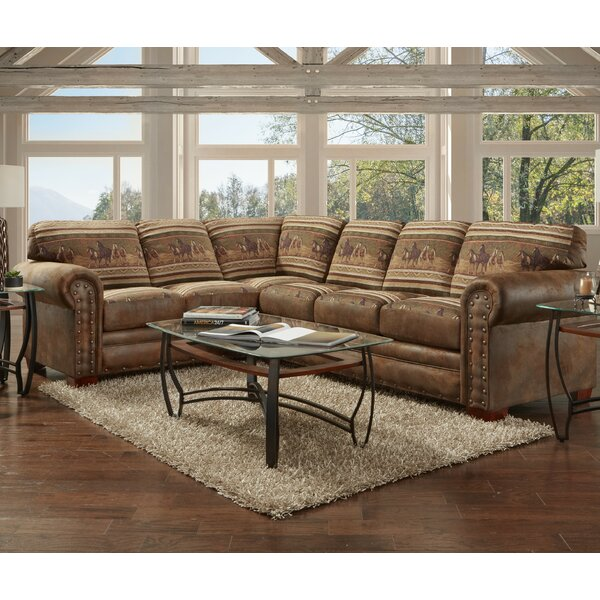 Charlie Left Hand Facing Sectional by Millwood Pines Millwood Pines