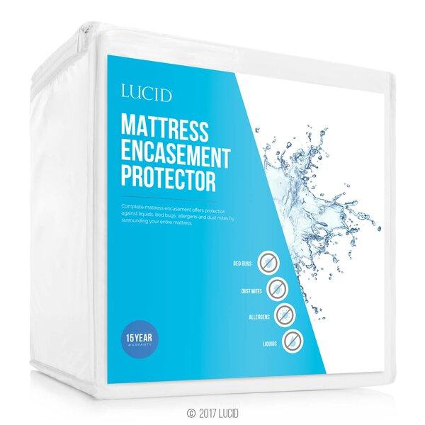Encasement Hypoallergenic Waterproof Mattress Protector by Lucid