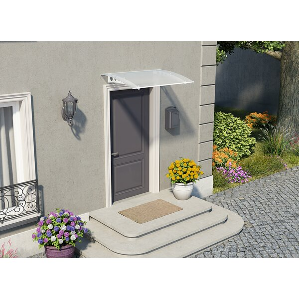 Lyra 1350 4.5 ft. W x 3 ft. D Window & Door Awning by Palram