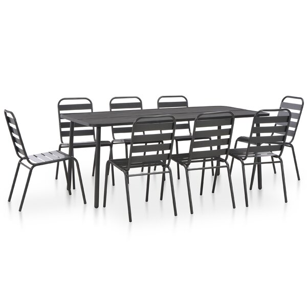 Chincoteague 9 Piece Dining Set by Williston Forge