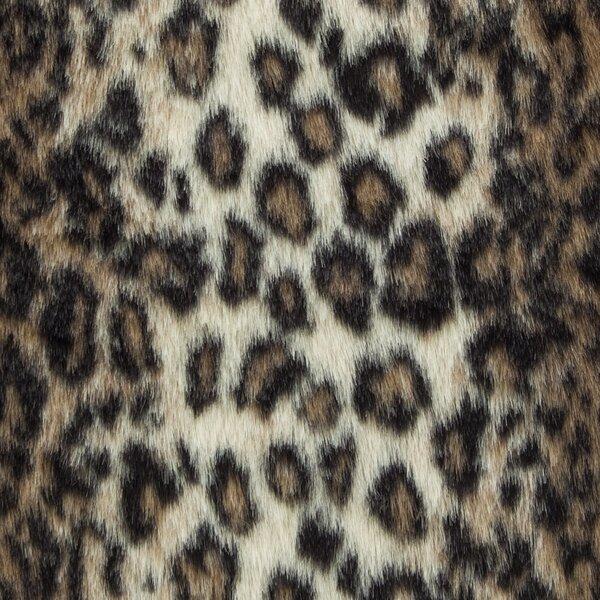 Ransom Wild Leo Luxury Faux Fur Throw by Everly Quinn