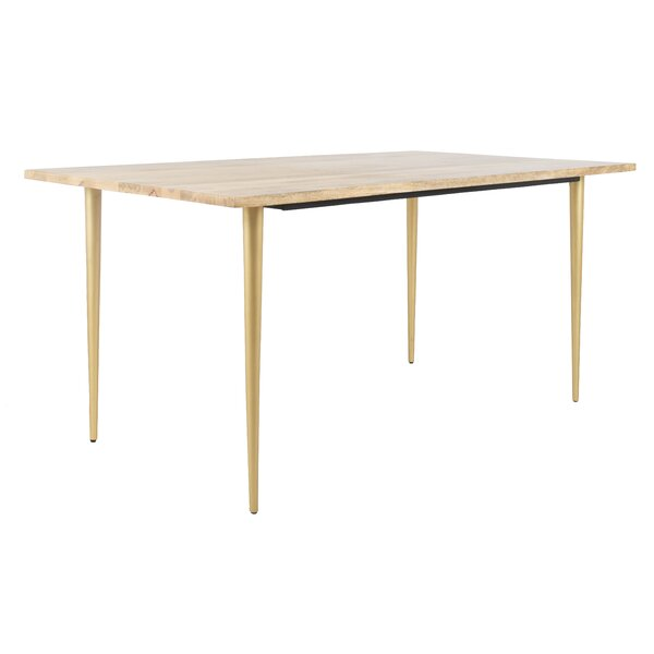 Lianna Solid Wood Dining Table by Wrought Studio