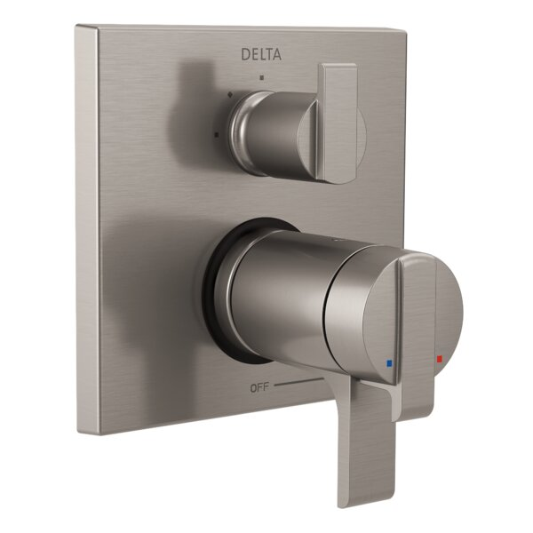 Ara Thermostatic 17T Series Trim with Double Handle by Delta