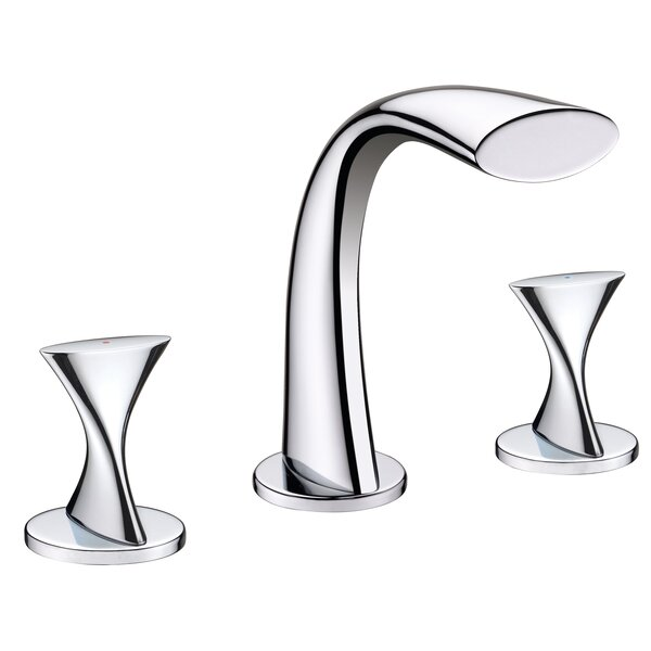 Twist Widespread Bathroom Faucet with Drain Assembly