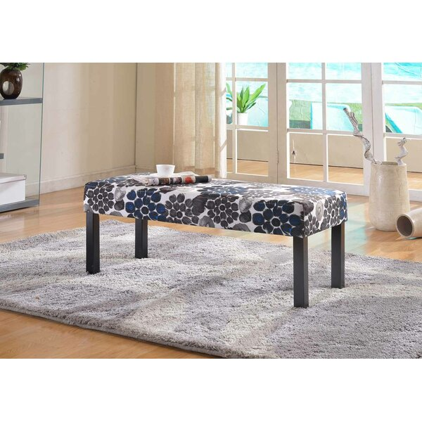 Coursey Upholstered Bench by Winston Porter