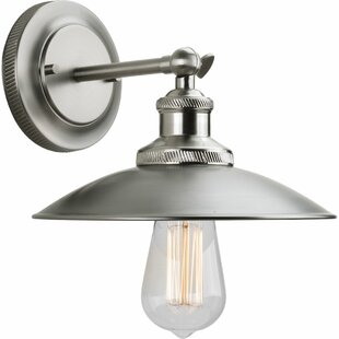 Clearance Estevao 1 Light Wall Sconce By 17 Stories