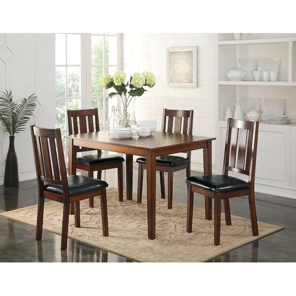Walsall 5 Piece Dining Set by Alcott Hill
