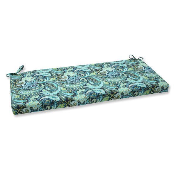 Pretty Indoor/Outdoor Bench Cushion by Pillow Perfect