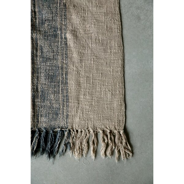 East Helena Cotton Throw Blanket by Laurel Foundry Modern Farmhouse