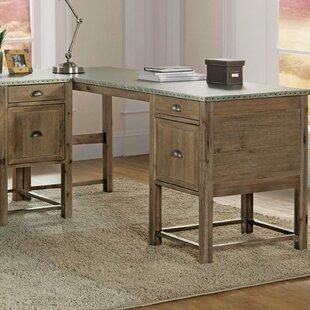 Affordable Price Maxen Return Desk ByGracie Oaks