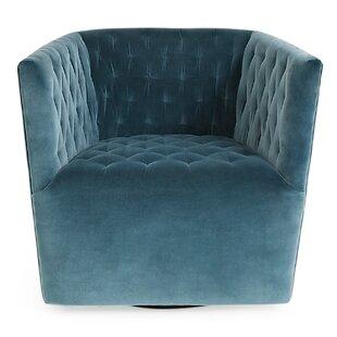 Vertigo Swivel Barrel Chair