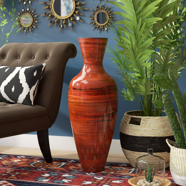 Tall Vase With Bamboo Wayfair