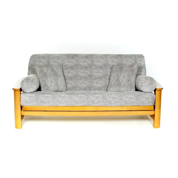 Snowcat Box Cushion Futon Slipcover by Lifestyle Covers