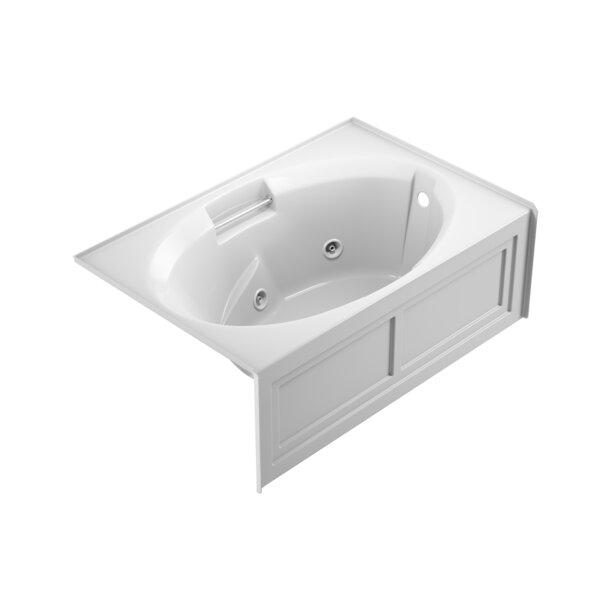 Nova Right-Hand 60 x 36 Skirted Whirlpool Bathtub by Jacuzzi®