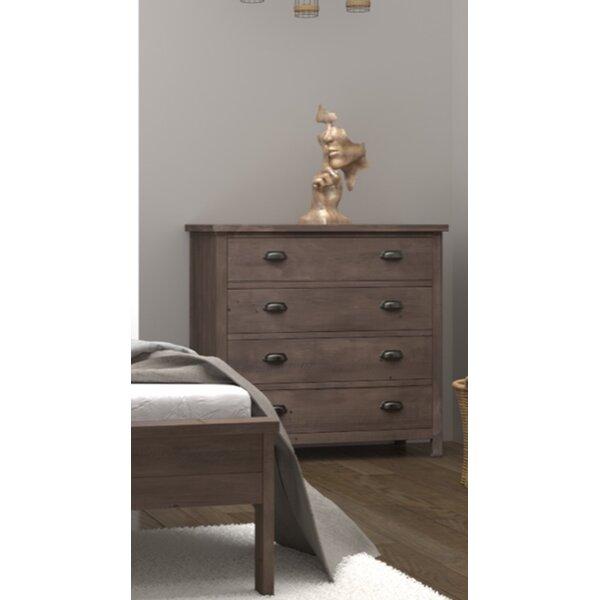 Barna 4 Drawer Dresser by Gracie Oaks