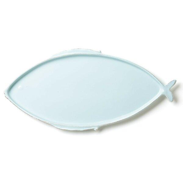 Lastra Fish Oval Platter by VIETRI