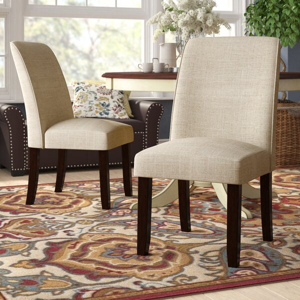 Ingaret Upholstered Dining Chair (Set of 2) by Darby Home Co Darby Home Co