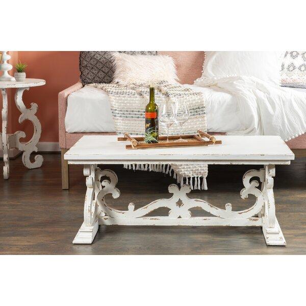 Merrimac Trestle Coffee Table By One Allium Way