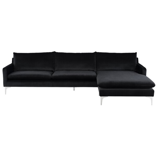 Anders Right Hand Facing Sectional by Nuevo Nuevo