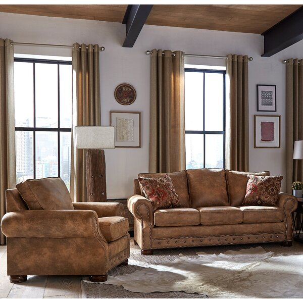 Gabrielle 2 Piece Living Room Set by Loon Peak