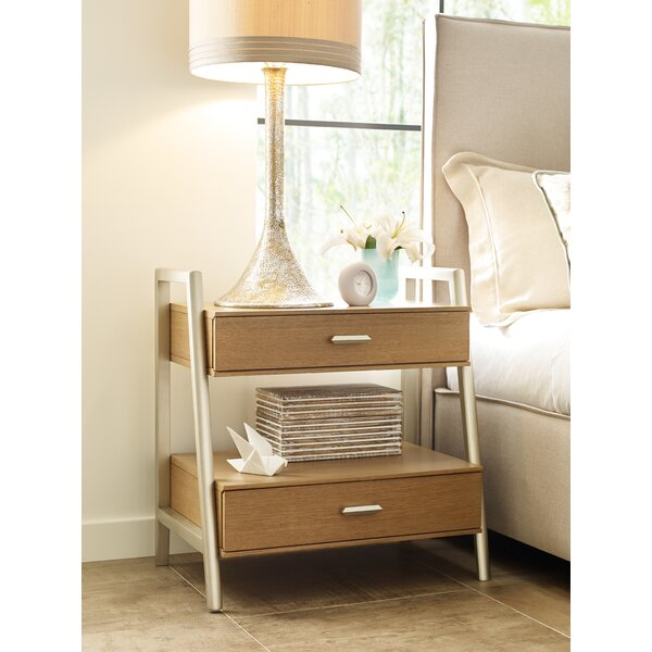 Hygge 2 Drawer Nightstand by Rachael Ray Home