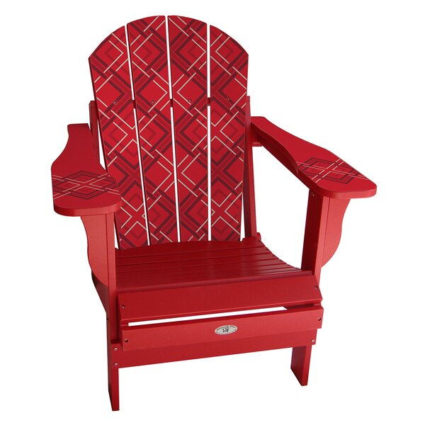 Keough Plastic Folding Adirondack Chair by Latitude Run