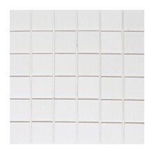 Thassos 2 x 2 Marble Mosaic Tile in White by Seven Seas
