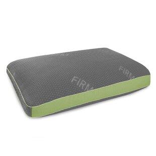 Vivienne Memory Foam and Gel Fiber Standard Pillow with Tencel Cover ByAlwyn Home