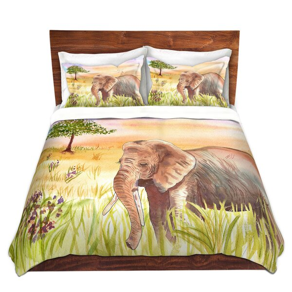 Ellie Elephant Duvet Cover Set